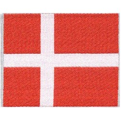 Danish Flag for Backpacks
