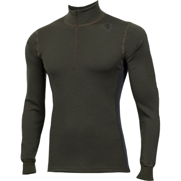 WarmWool Mock Neck with Zip