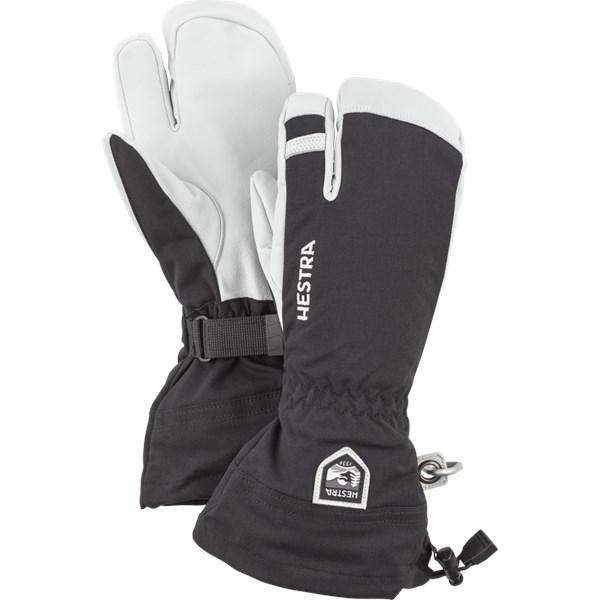 Army Leather Heli Ski 3-Finger