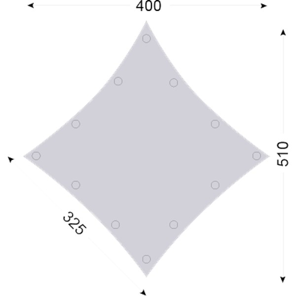 Kari 10 m2 Diamond Technical Cotton