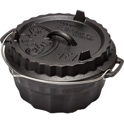 Ring Cake Pan w/Tarte Case Lid GF1