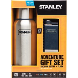 Adventure Gift Set Vacuum Bottle & Flask