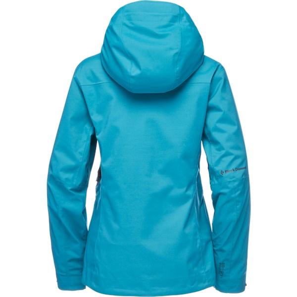 Boundary Line Mapped Insulated Jacket Women