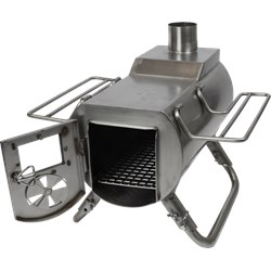 Heat View Tent Stove