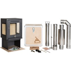 Camp Stove with Flue Kit