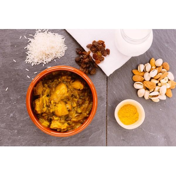 Chicken Madras with Long Grain & Wild Rice