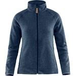 Övik Fleece Zip Sweater Women