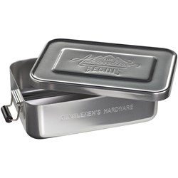 Adventure Begins Silver Lunch Tin