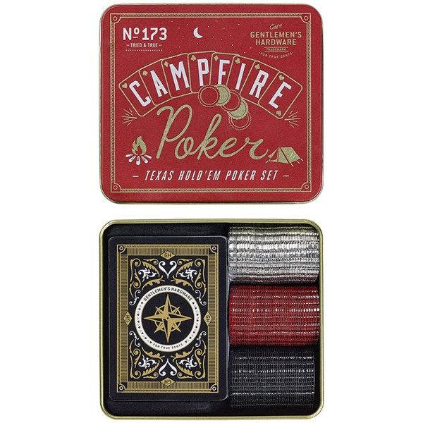 Campfire Texas Hold 'Em Poker Set