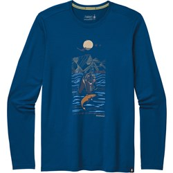Merino Sport 150 Alpine Bear LS Graphic Tee