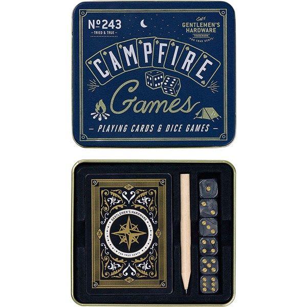 Campfire Playing Cards & Dice Games