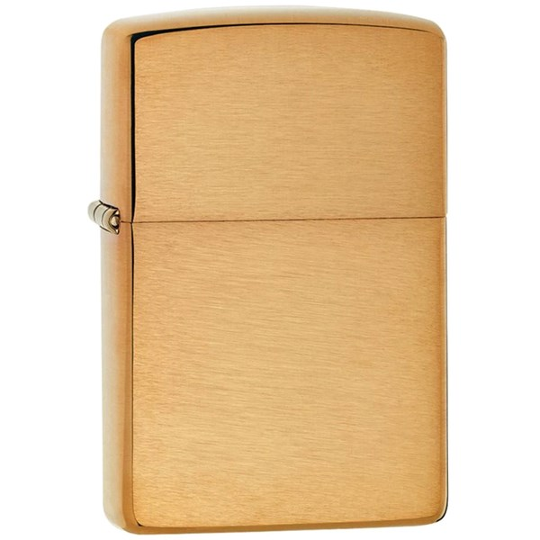 Classic Brushed Brass Lighter