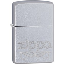 Scroll Satin Chrome Lighter