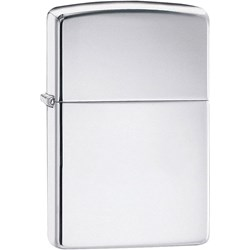 Classic High Polish Chrome Lighter