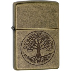 Tree of Life Antique Brass™ Lighter