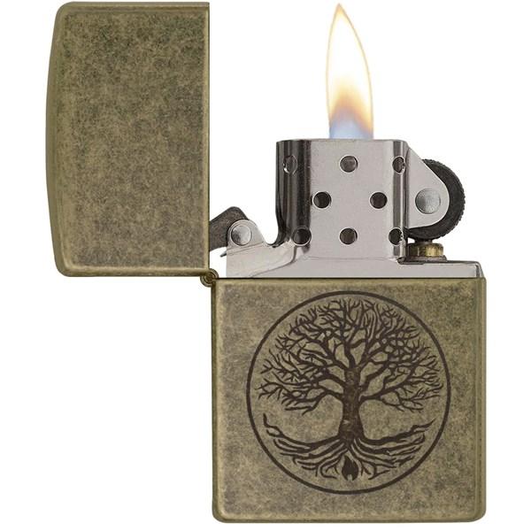 Tree of Life Antique Brass™ Lighter