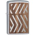 Woodchuck Herringbone Sweep Walnut Lighter