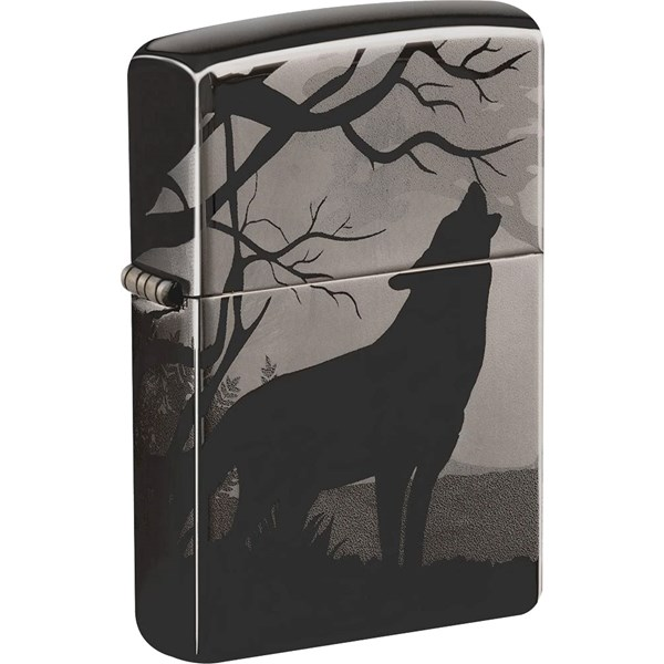 Wolves Design Black Ice® Lighter