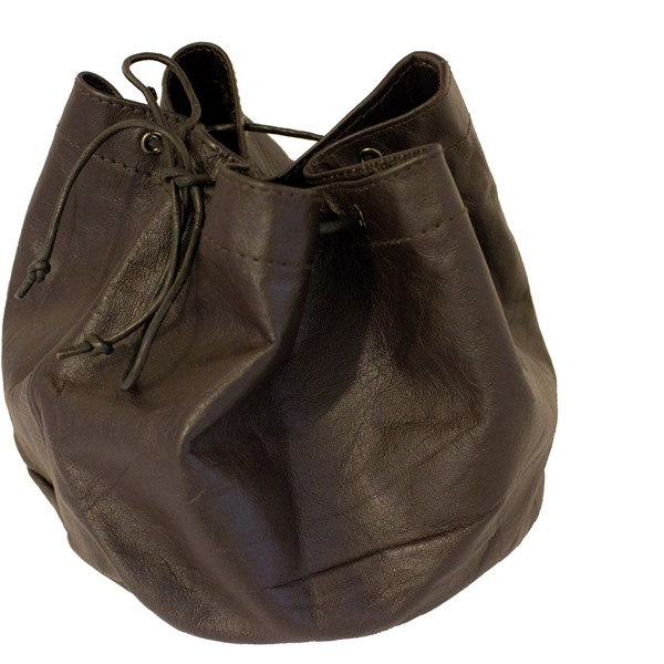 Leather Pouch for Coffee Pot, Ø 20 x 14 cm