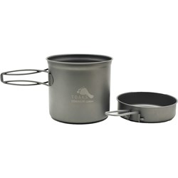 Titanium 1100 ml Pot with Pan