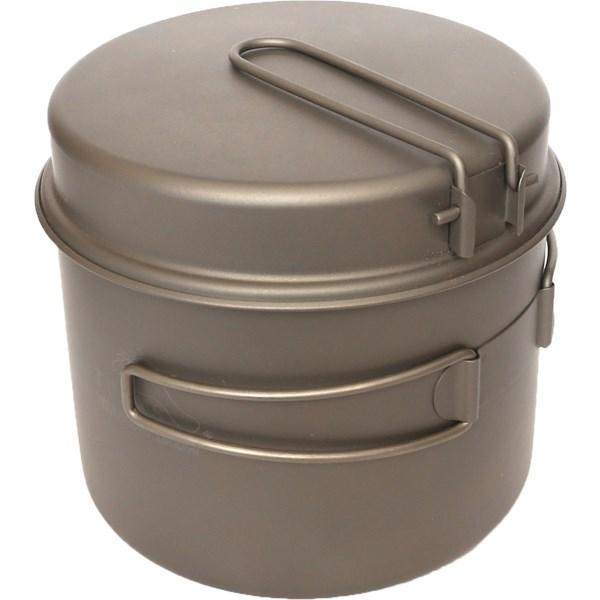 Titanium 1600 ml Pot with Pan