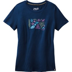 Merino Sport 150 Spring Leaves Tee Women