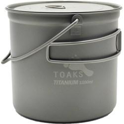 Titanium 1100 ml Pot with Bail Handle