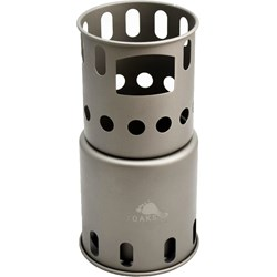 Titanium Small Backpacking Wood Burning Stove