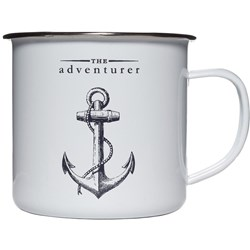The Adventurer Enamel Mug