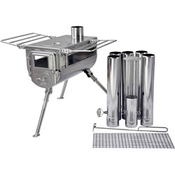 Woodlander Double View Medium Cook Camping Stove