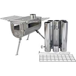Woodlander Double View Large Cook Camping Stove