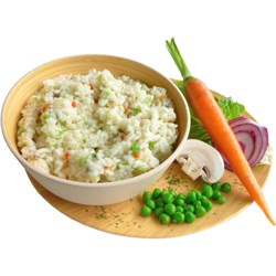 Vegetable Risotto, double