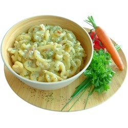 Pasta in a Creamy Sauce w/Herbs, double