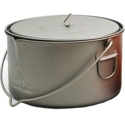 Titanium 2000 ml Pot with Bail Handle