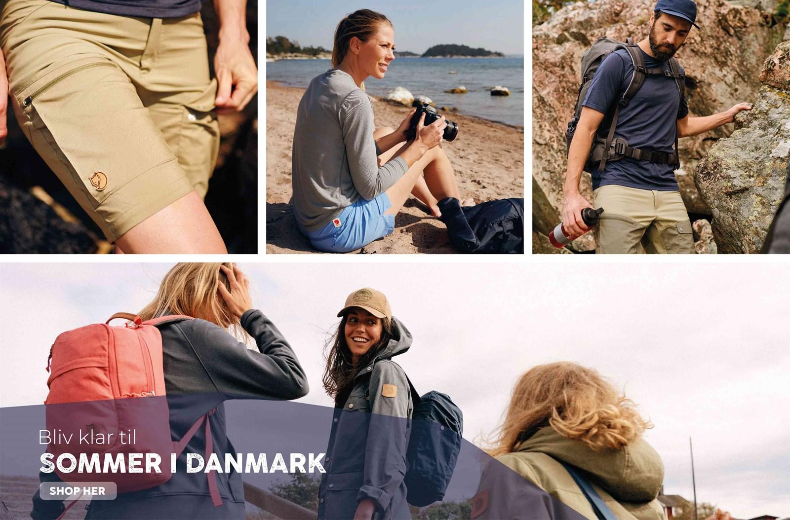 Alt i beklædning til sommeren i Danmark