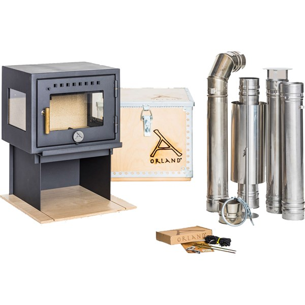 Compact Stove with Flue Kit
