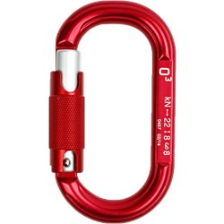 O3 Oval Triple Action Carabiner