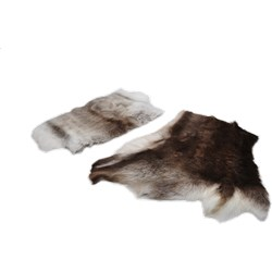 Reindeer Hide Seat Lux Impregnated
